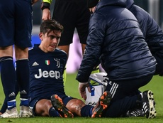 Juventus' Dybala out for up to 20 days with knee injury. AFP