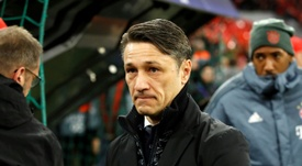 Glum Bayern boss Kovac eyes domestic double after European exit. AFP