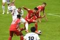Musiala, lesionado en su mejor pico de forma con el Bayern. AFP