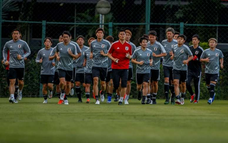 Kawashima is the eldest man in the Japan squad. AFP
