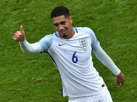 Smalling. AFP
