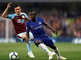 PSG quer trazer Kanté para reforçar seu meio-campo. AFP
