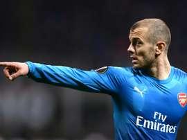 Jack Wilshere pourrait rebondir à West Ham. AFP