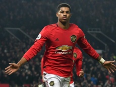 Rashford targets rapid return to fitness after back injury. AFP