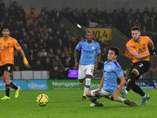 Man City's title bid in tatters after collapse at Wolves