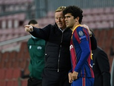 Barca youngster Alena joins Getafe on loan. AFP