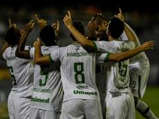 Chapecoense savor win on international return. AFP
