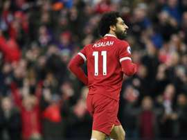 Salah was the leading African player in Europe this weekend