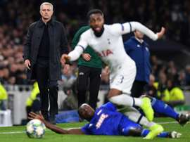 Mourinho has denied reports he has fallen out with Danny Rose. AFP