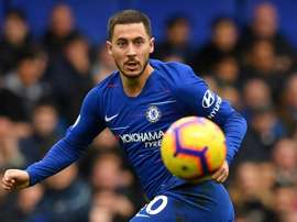 Hazard is expected to return to the Chelsea team. AFP