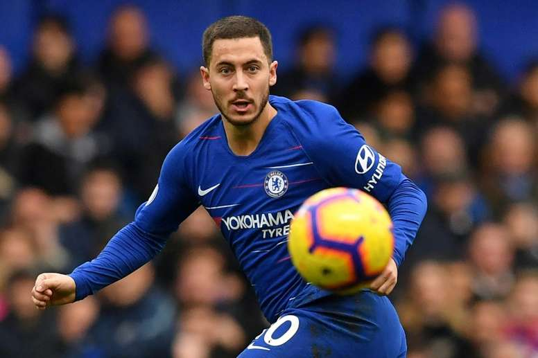 Eden Hazard is expected to start for Chelsea. AFP