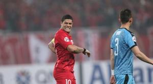 Hulk só pensa no futebol chinês. AFP