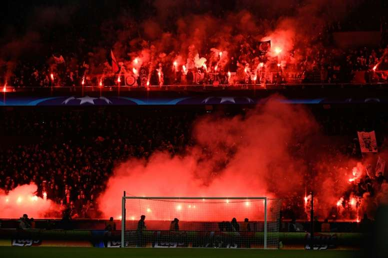 Seven Psg Fans Banned After Madrid Clash Besoccer