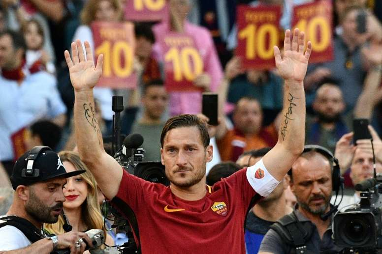 Japan's Verdy make bold swoop for Italy legend Totti. AFP