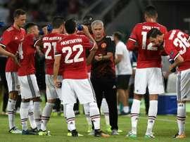 Mourinho elogia Matic. AFP