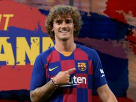 Griezmann joins Barcelona in a controversial move from Atletico. AFP