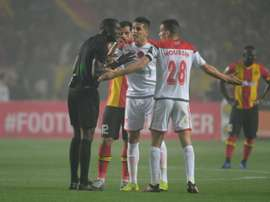 Wydad Casablanca left the field after their disallowed goal could not be reviewed. EFE