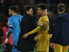 Alli was full of praise for youngster Kyle Walker-Peters. AFP