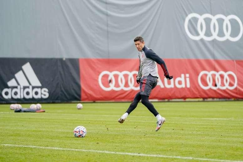 Le formazioni ufficiali di Bayern Monaco-Salisburgo. AFP
