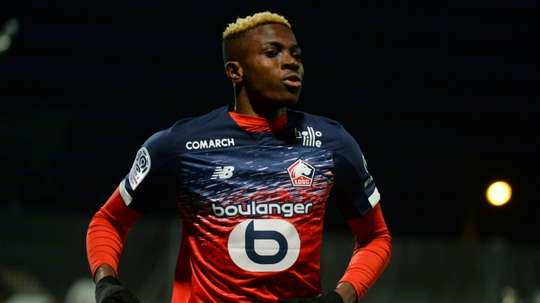 Osimhen is one of the players to look out for in the new Serie A season. AFP