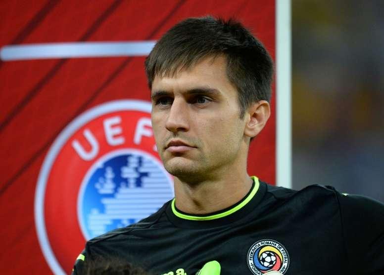 O goleiro de 21 anos esteve três épocas em Florença. AFP