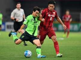 El Shangai SIPG visitará Corea del Sur para buscar un pase para las semifinales. AFP