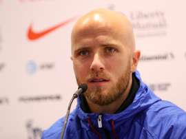 Bradley is expecting a tough test from Chile. AFP