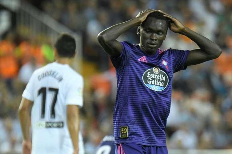 Pione Sisto is refusing to train for Celta Vigo. AFP