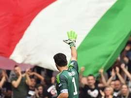Buffon se fue como merecía, ganando. EFE