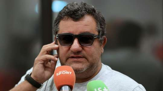 Mino Raiola has threatened FIFA with legal action. AFP