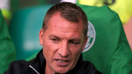 Rodgers' side were defeated by Hearts. AFP