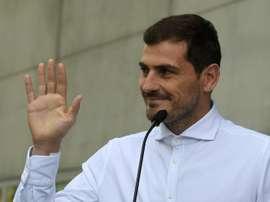 Casillas publicó un comunicado oficial. AFP