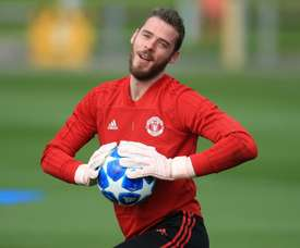 De Gea has been the standout performer for United again this season.  AFP