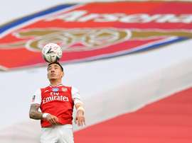 Bellerin has asked fans for more time. AFP