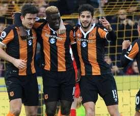 El Hull se quedó sin victoria. AFP