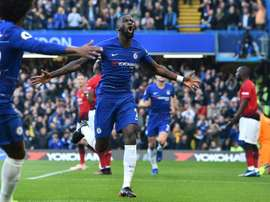 Rudiger called for Chelsea to keep calm after their defeat to Tottenham. AFP