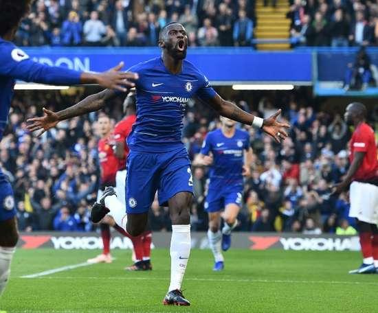 Coup dur pour Chelsea. AFP