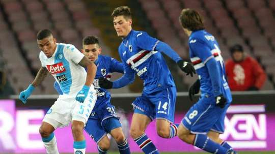 La Sampdoria ha anuncaiado el fichaje de Cristian Hadziosmanovic para la próxima temporada. AFP