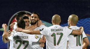 Algeria in finale di Coppa d'Africa. AFP