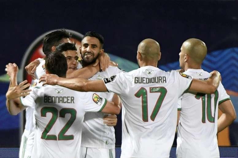 L'Algeria si guadagna la semifinale. AFP