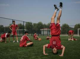 Pyongyang International Football School opened in 2013 and the coach insists the skys the limit