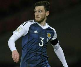The Scotland captain's career could have panned out very differently. AFP