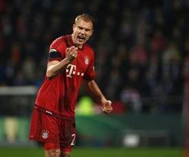 Le joueur du Bayern Munich, Badstuber lors d'un match de Bundesliga. AFP