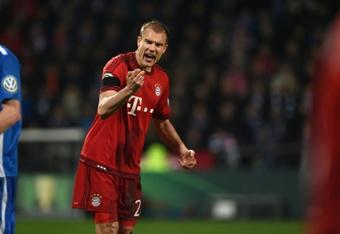 De tocar el cielo con el Bayern ¡al infierno de la Cuarta Alemana! AFP