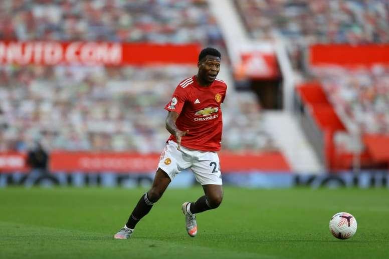 Timothy Fosu-Mensah has signed for Leverkusen from Man Utd. AFP
