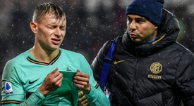 Italy's Barella undergoes successful knee surgery. AFP
