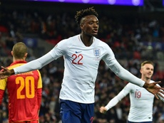 Abraham says England can go all the way at Euro 2020. AFP