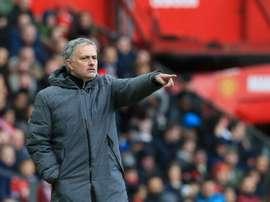 José Mourinho podría reforzarse con el hijo de Alf-Inge Haaland, ex del City. AFP/Archivo