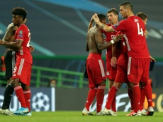 Bayern set up super-club showdown with PSG where something has to give. AFP