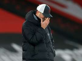 Jurgen Klopp quer aumentar coletividade para resolver falta de gols. AFP